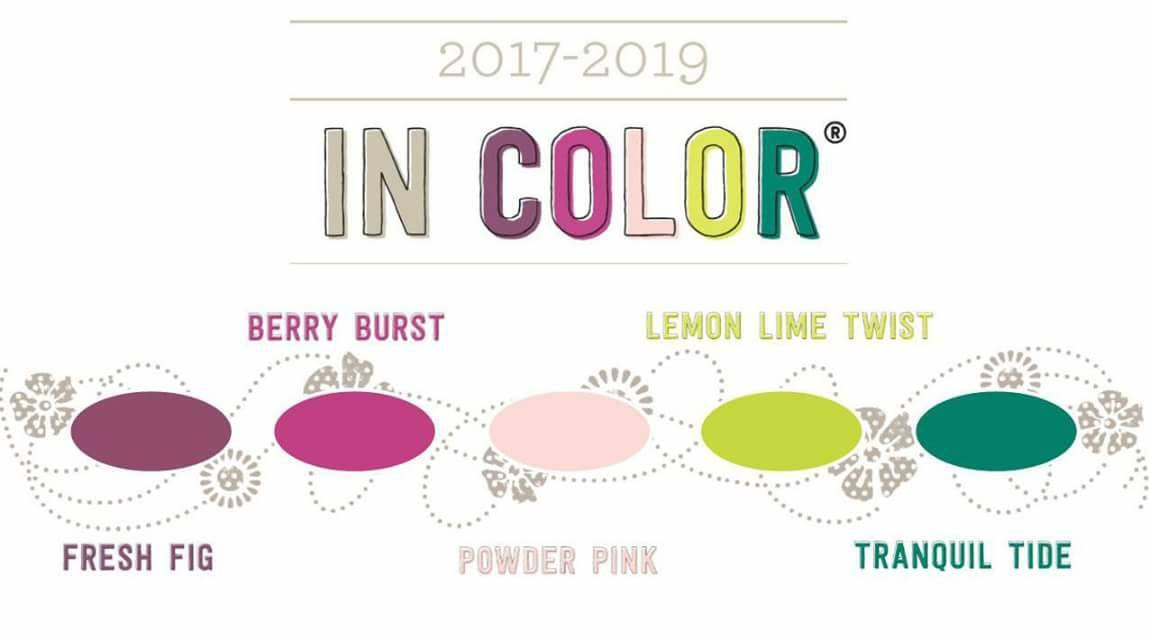 In Color 2017-2019 Stampin' Up! Tante Janny